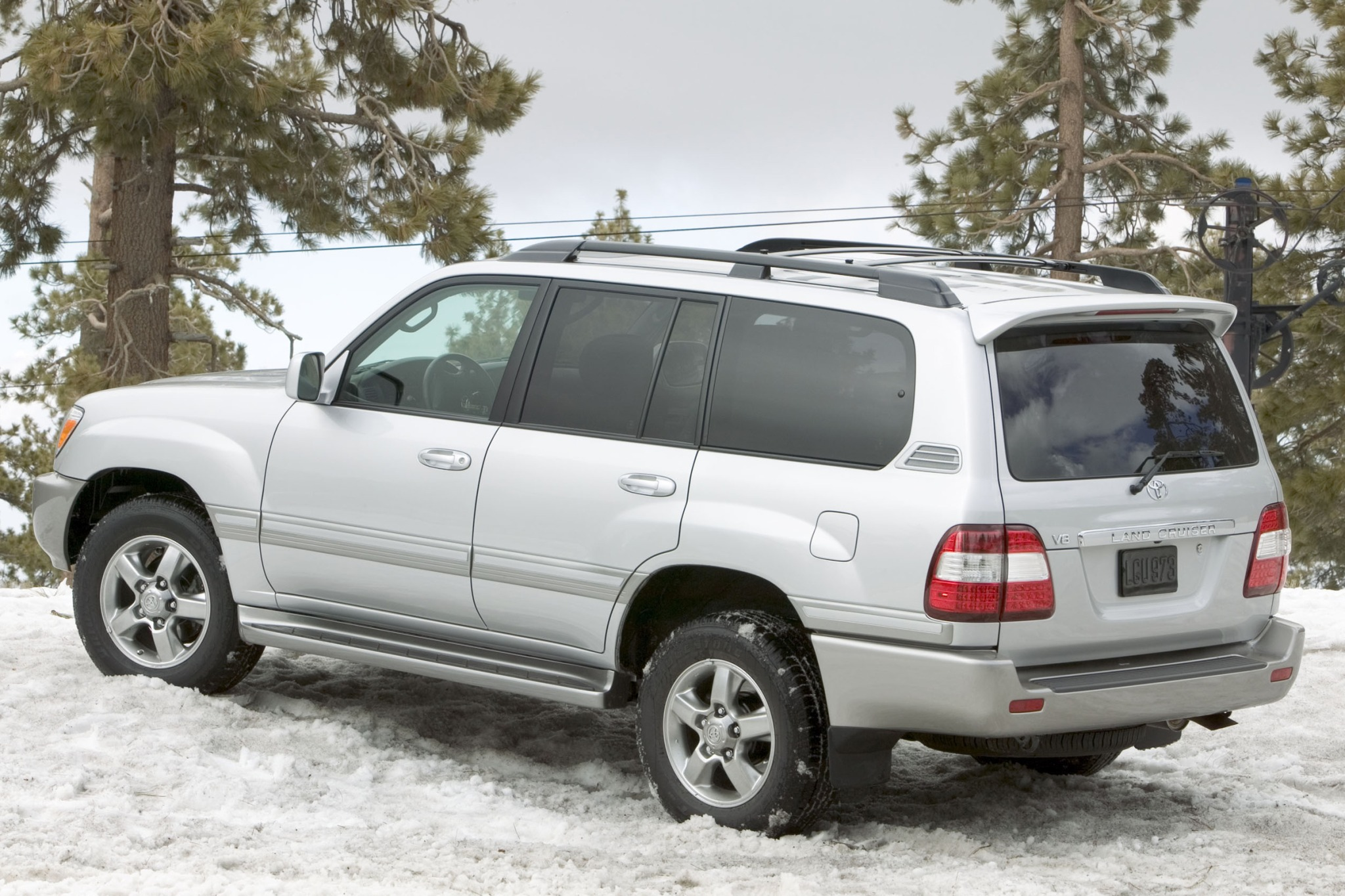 2007 Toyota Land Cruiser #5