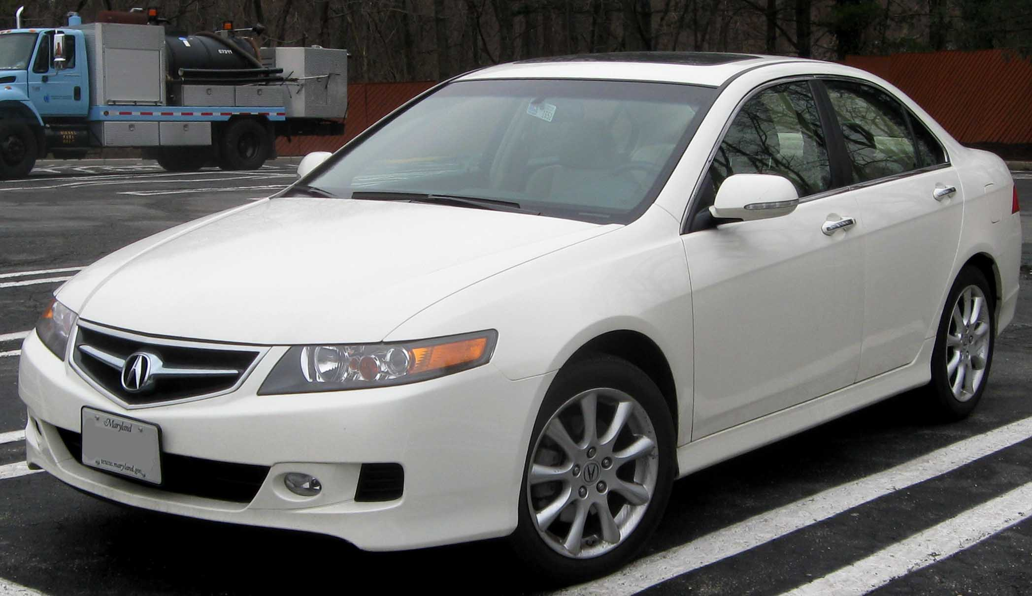 2008 acura tsx information and photos zombiedrive
