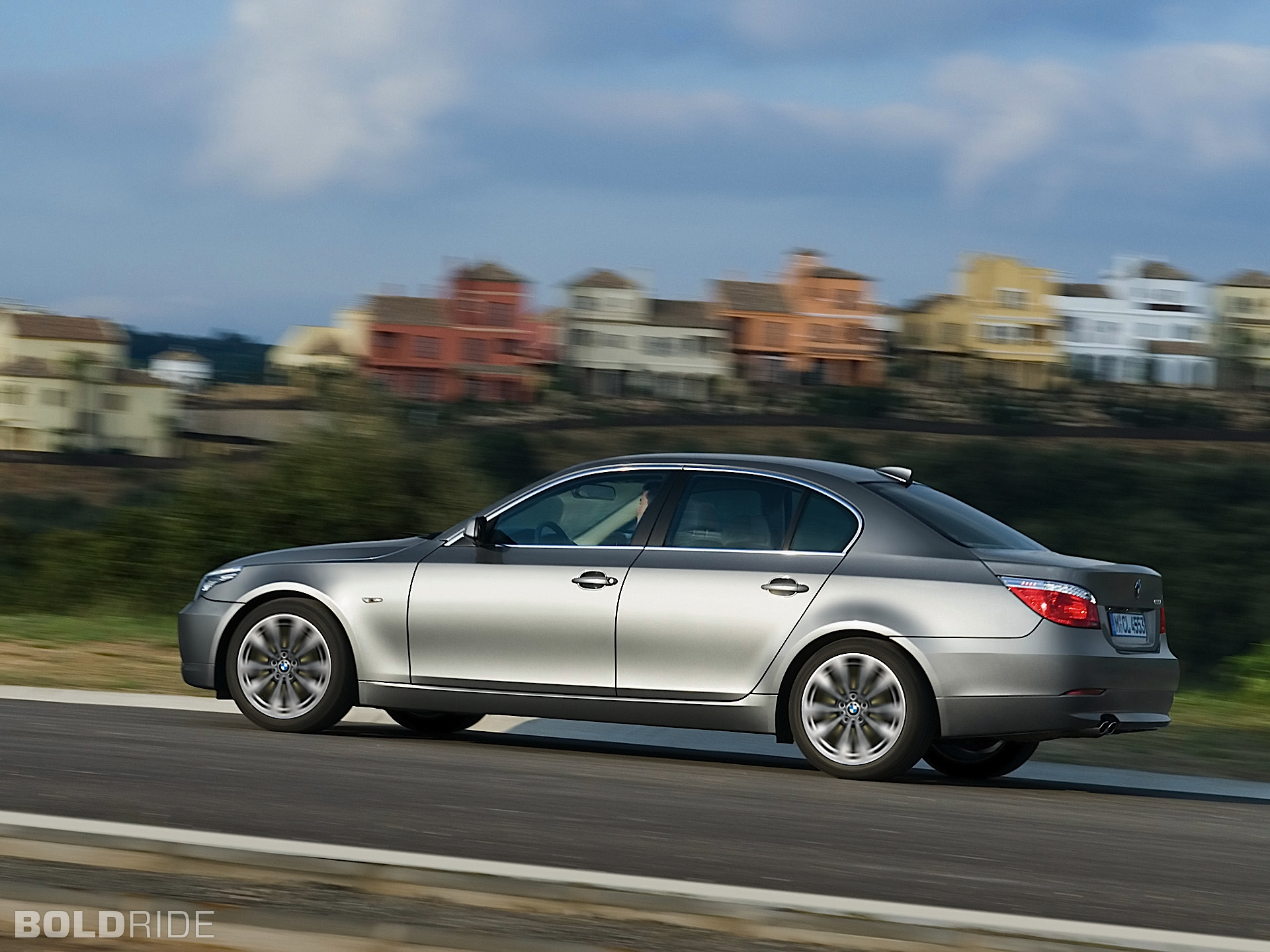2008 bmw 5 series information and photos zombiedrive. Black Bedroom Furniture Sets. Home Design Ideas