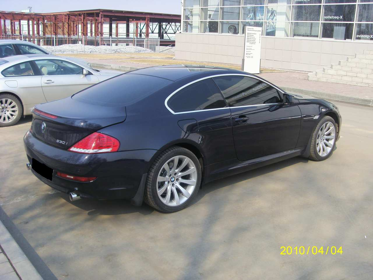2008 bmw 6 series information and photos zombiedrive. Black Bedroom Furniture Sets. Home Design Ideas