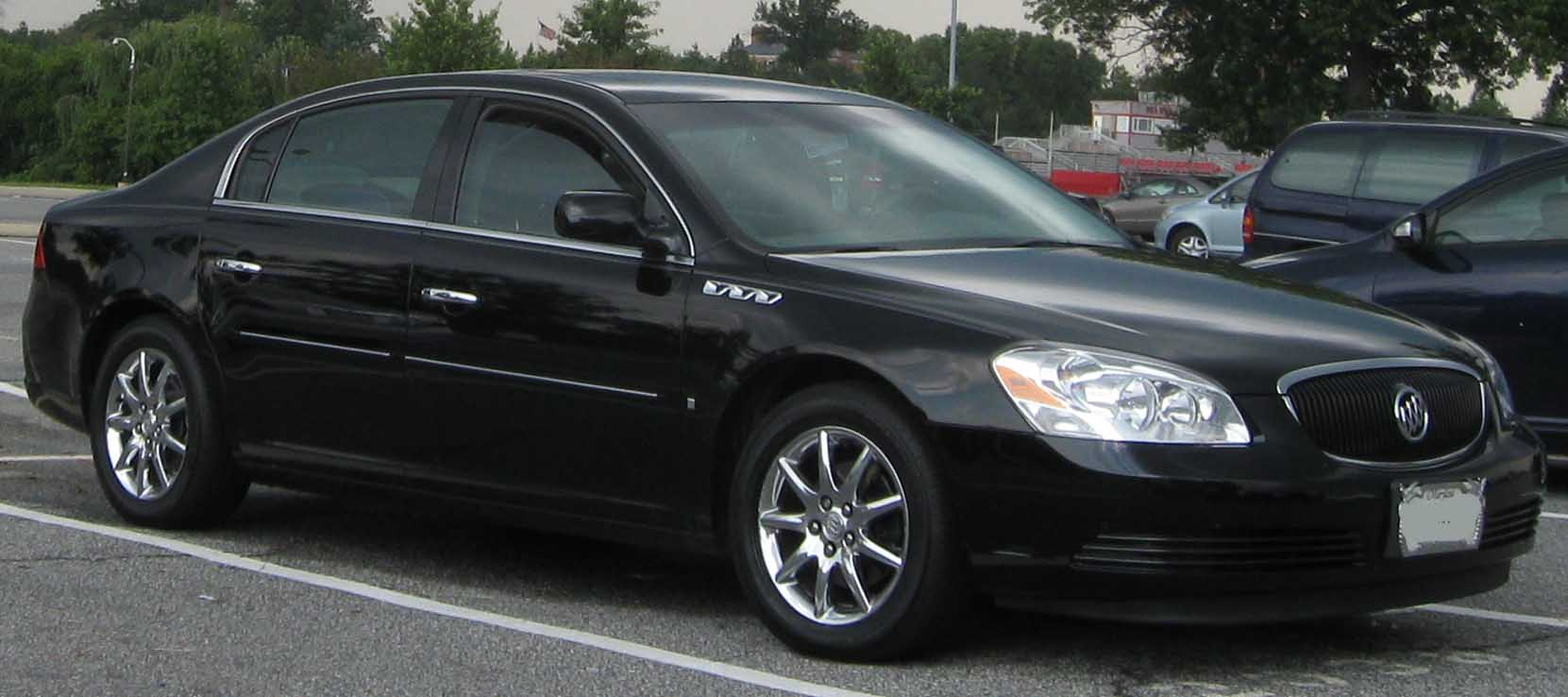 2007 Buick Lucerne Black >> 2008 Buick Lucerne Information And Photos Zombiedrive