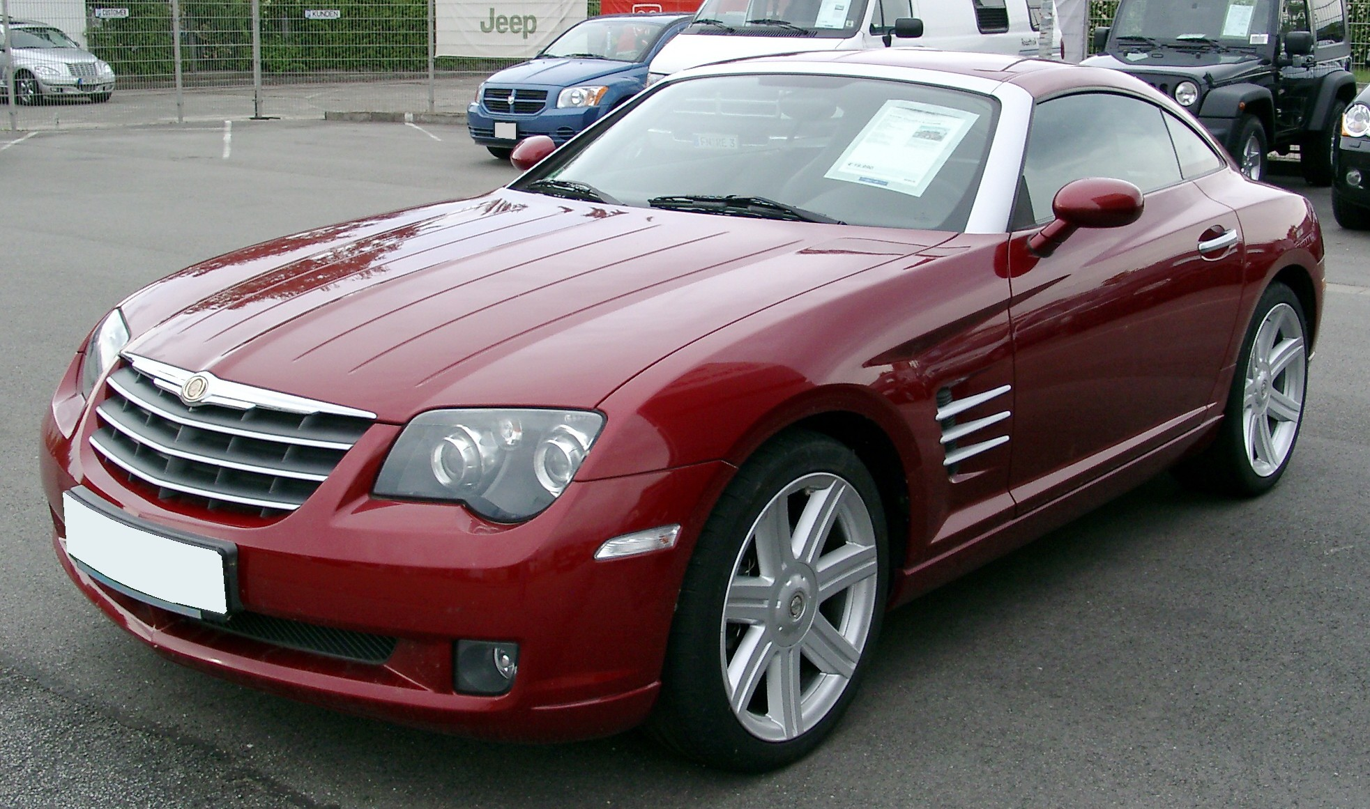 chrysler pic cars cargurus crossfire overview