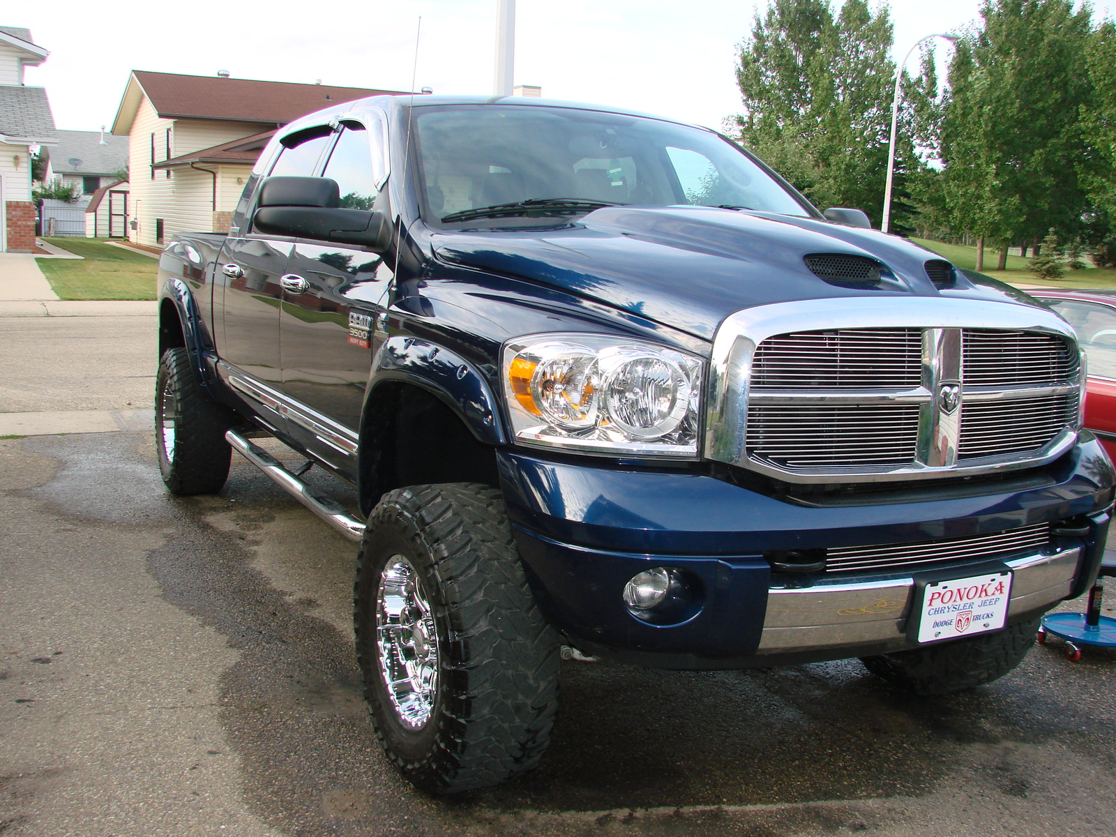 2008 dodge ram pickup 3500 information and photos zombiedrive. Black Bedroom Furniture Sets. Home Design Ideas