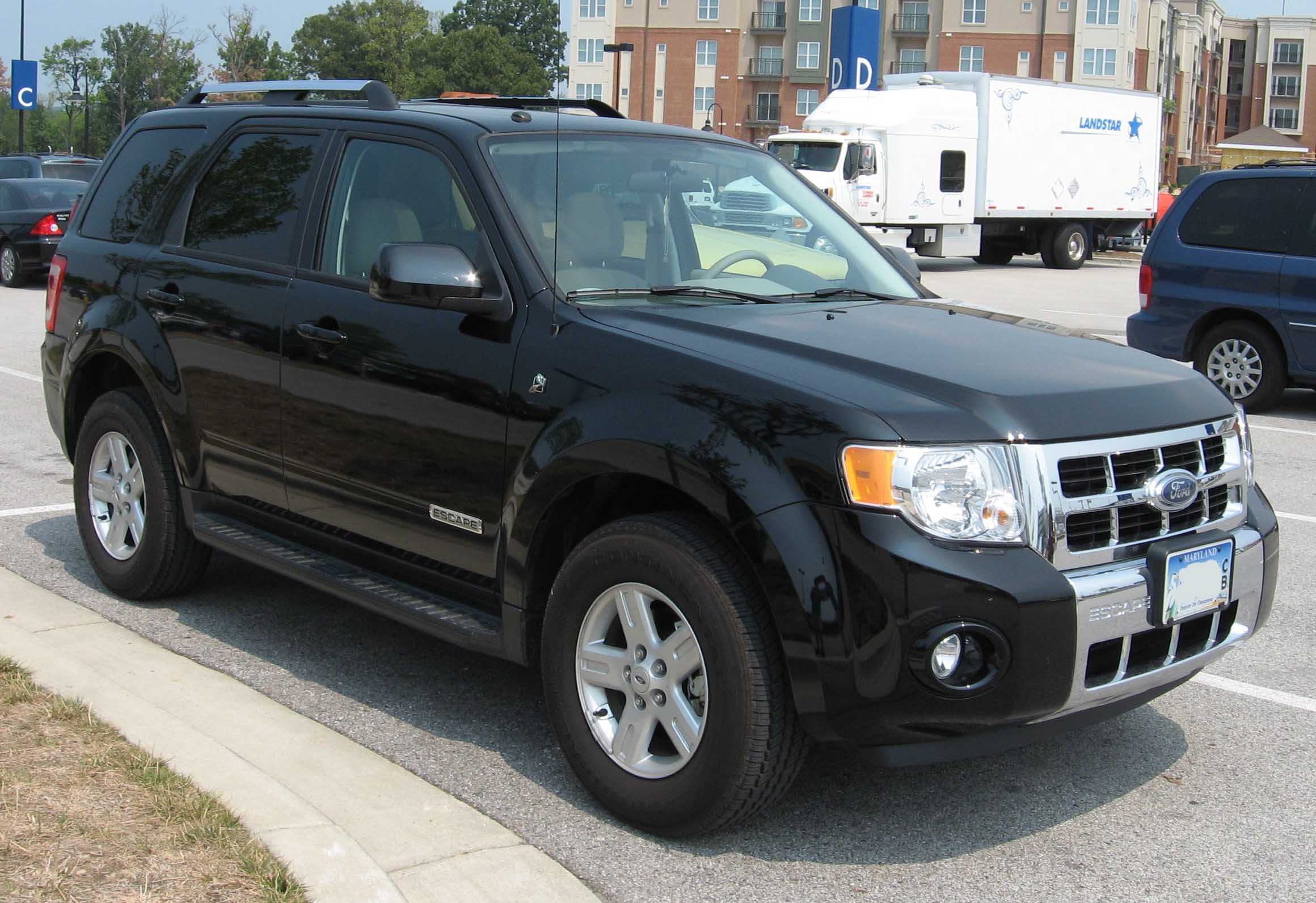 2008 ford escape information and photos zombiedrive. Black Bedroom Furniture Sets. Home Design Ideas