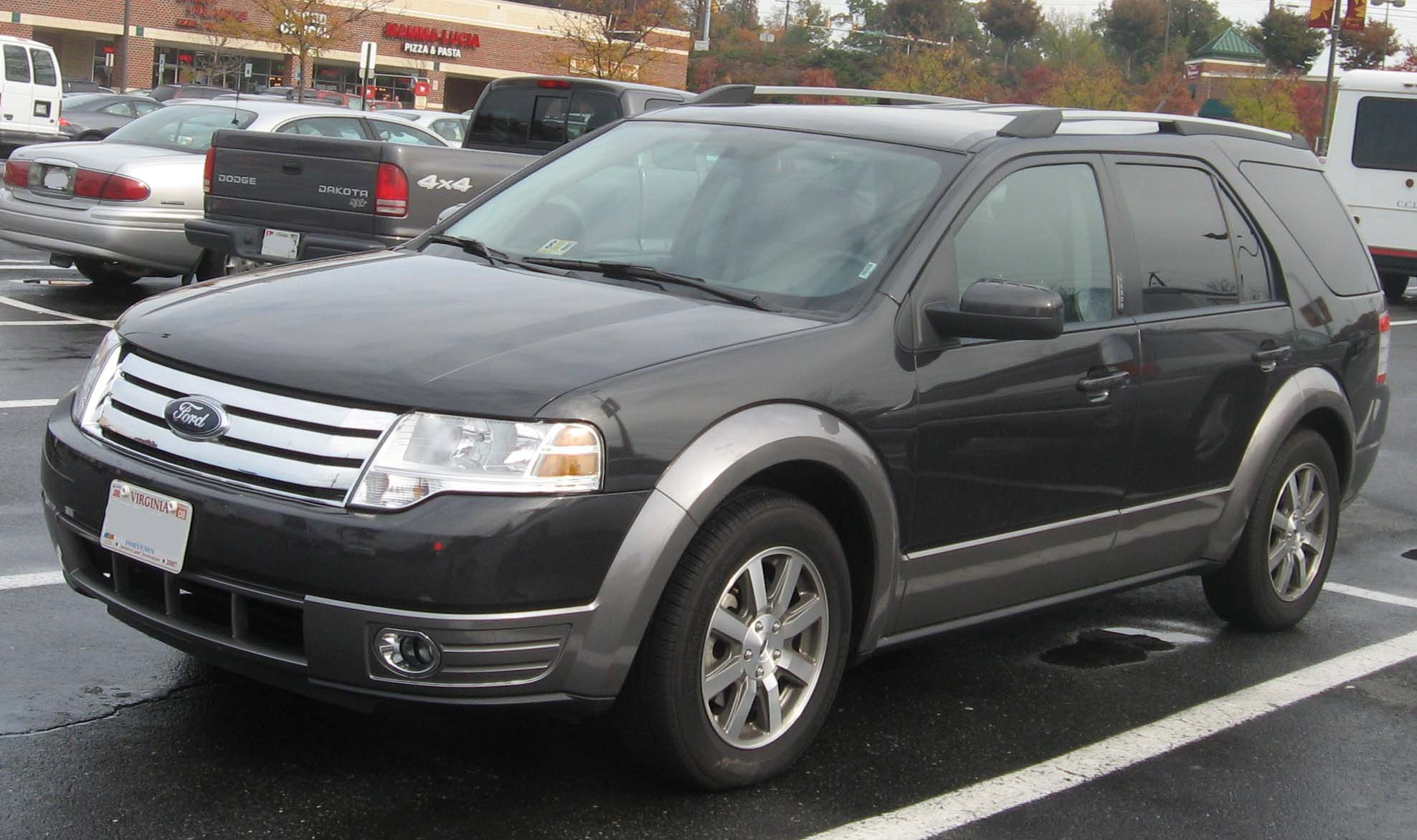 2008 Ford Taurus X  Information and photos  ZombieDrive