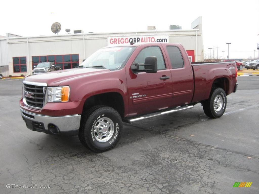 Chevy Diesel Trucks For Sale >> 2008 GMC Sierra 2500HD - Information and photos - ZombieDrive