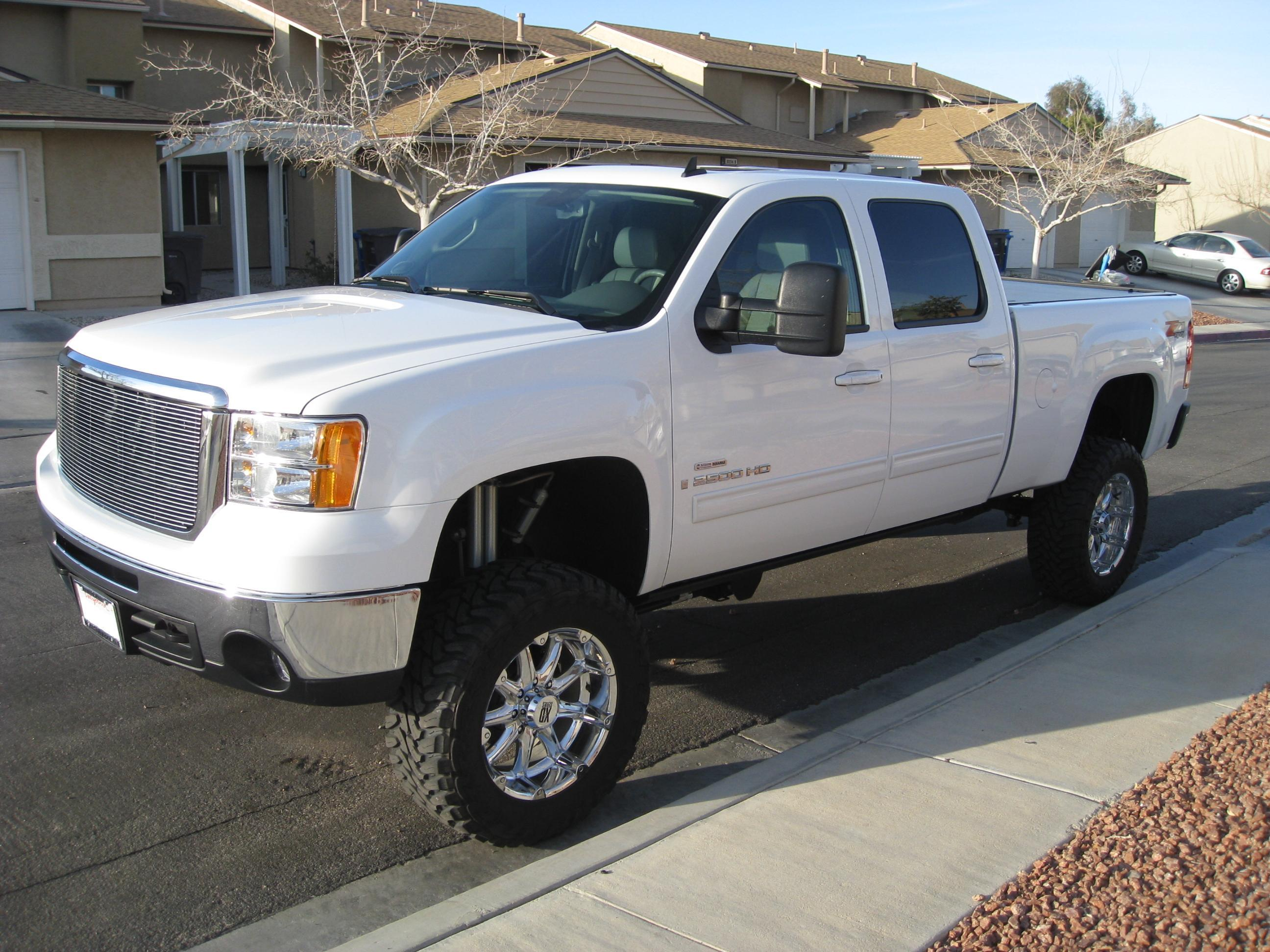 2008 Gmc Sierra 2500hd Information And Photos Zombiedrive