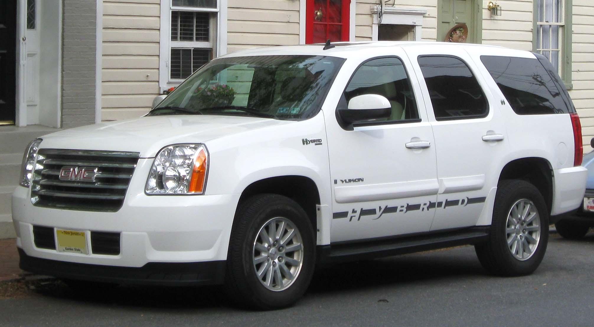 2008 Gmc Yukon Hybrid 8