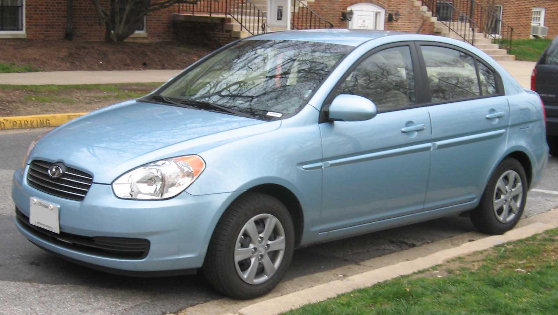 2008 Hyundai Accent #1 Hyundai Accent #1