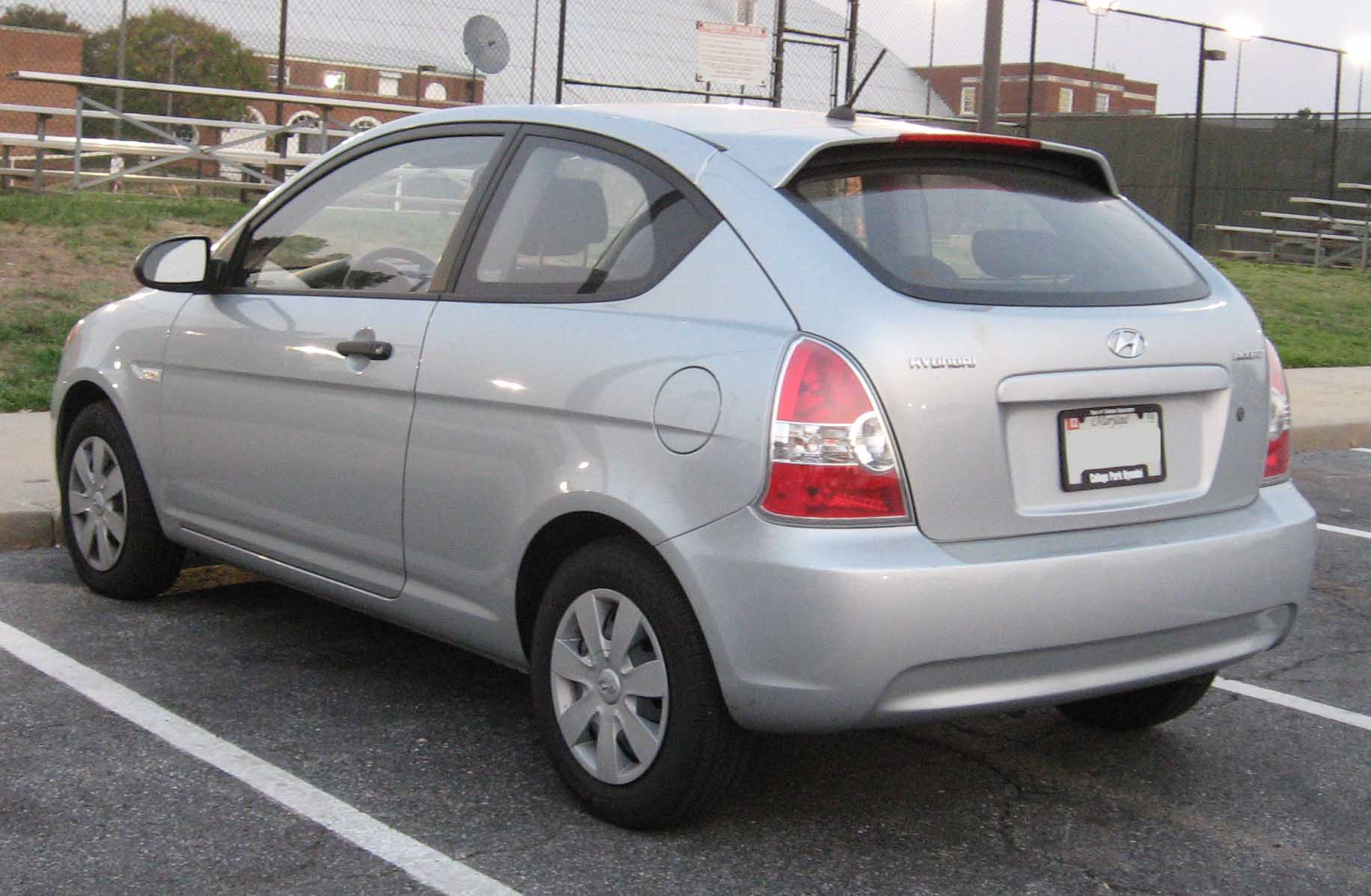2008 hyundai accent information and photos zombiedrive. Black Bedroom Furniture Sets. Home Design Ideas