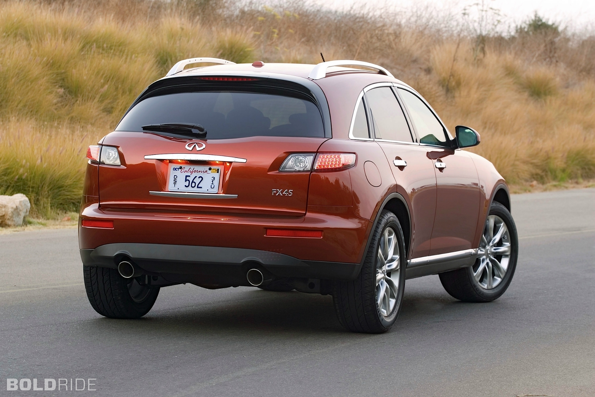 2008 Infiniti Fx35 Red 200 Interior And Exterior Images