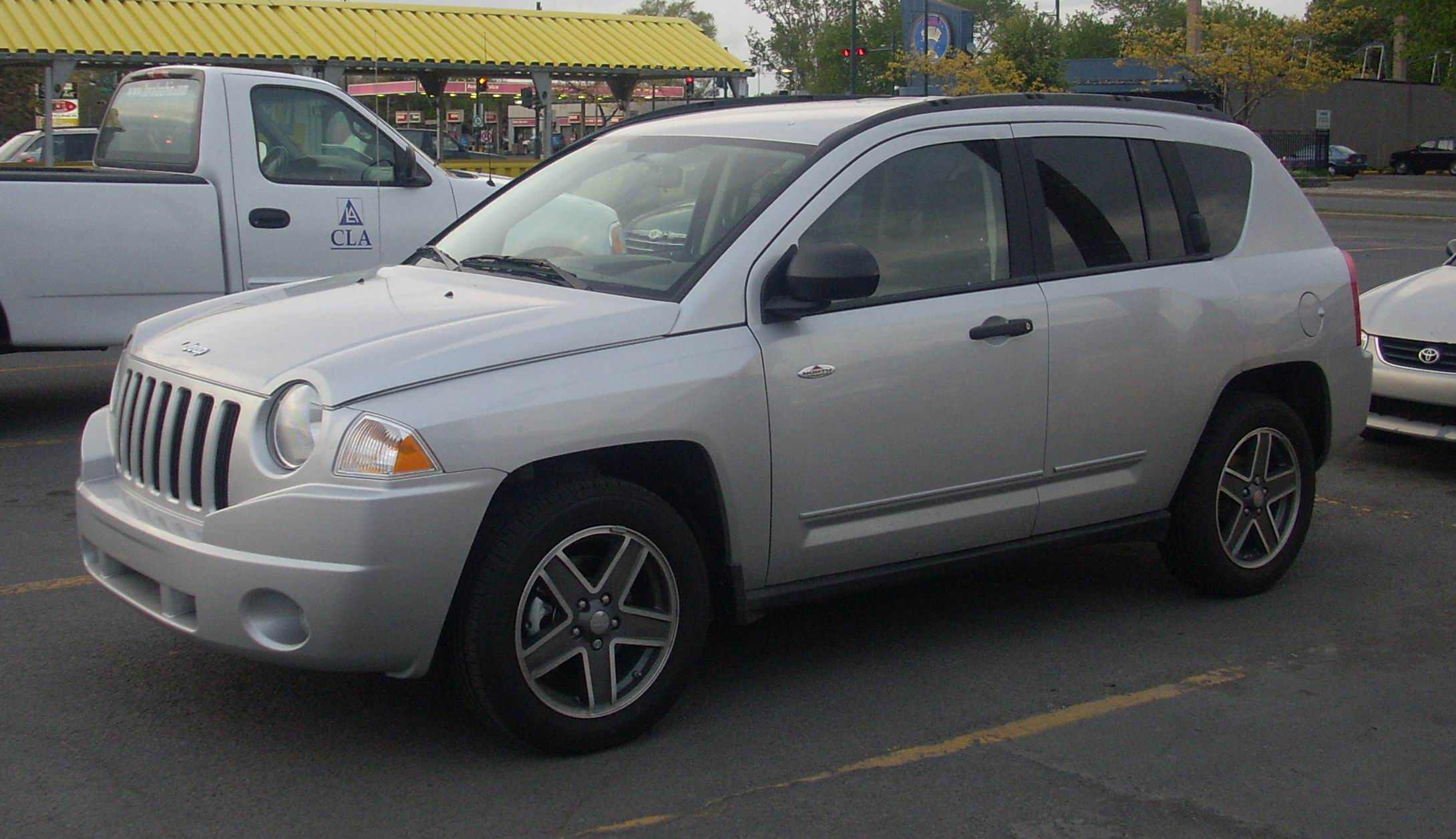 2008 jeep compass information and photos zombiedrive. Black Bedroom Furniture Sets. Home Design Ideas