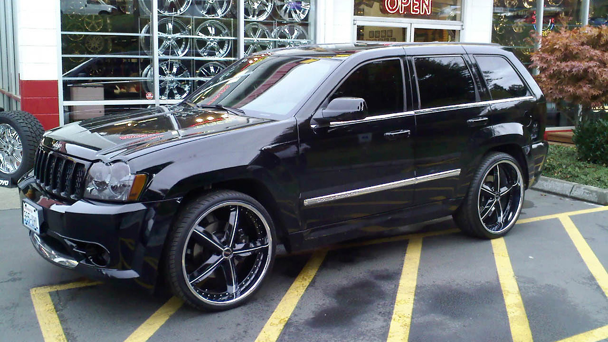 2008 jeep grand cherokee - information and photos - zombiedrive