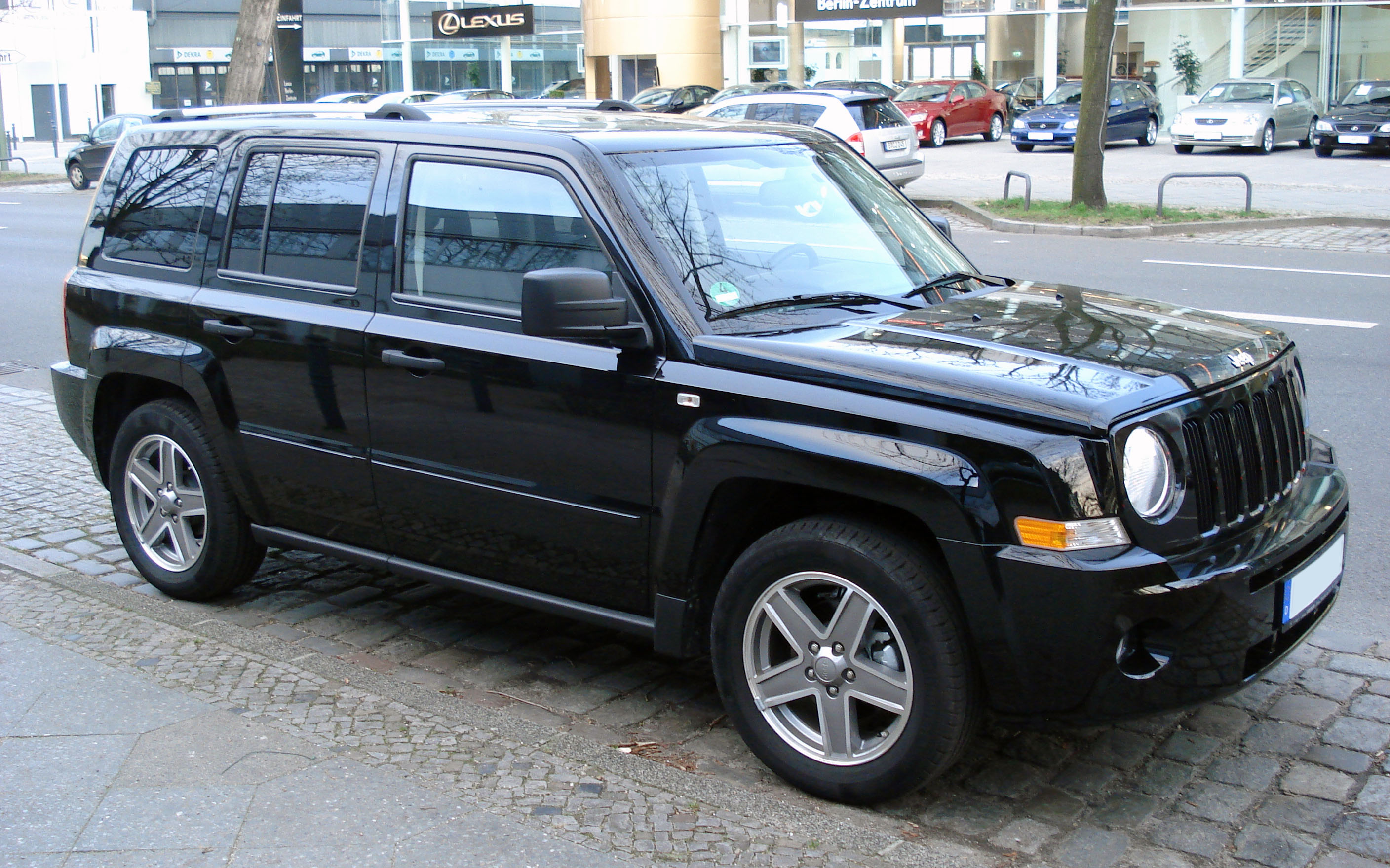 Jeep Patriot 2008 Blue Www Pixshark Com Images