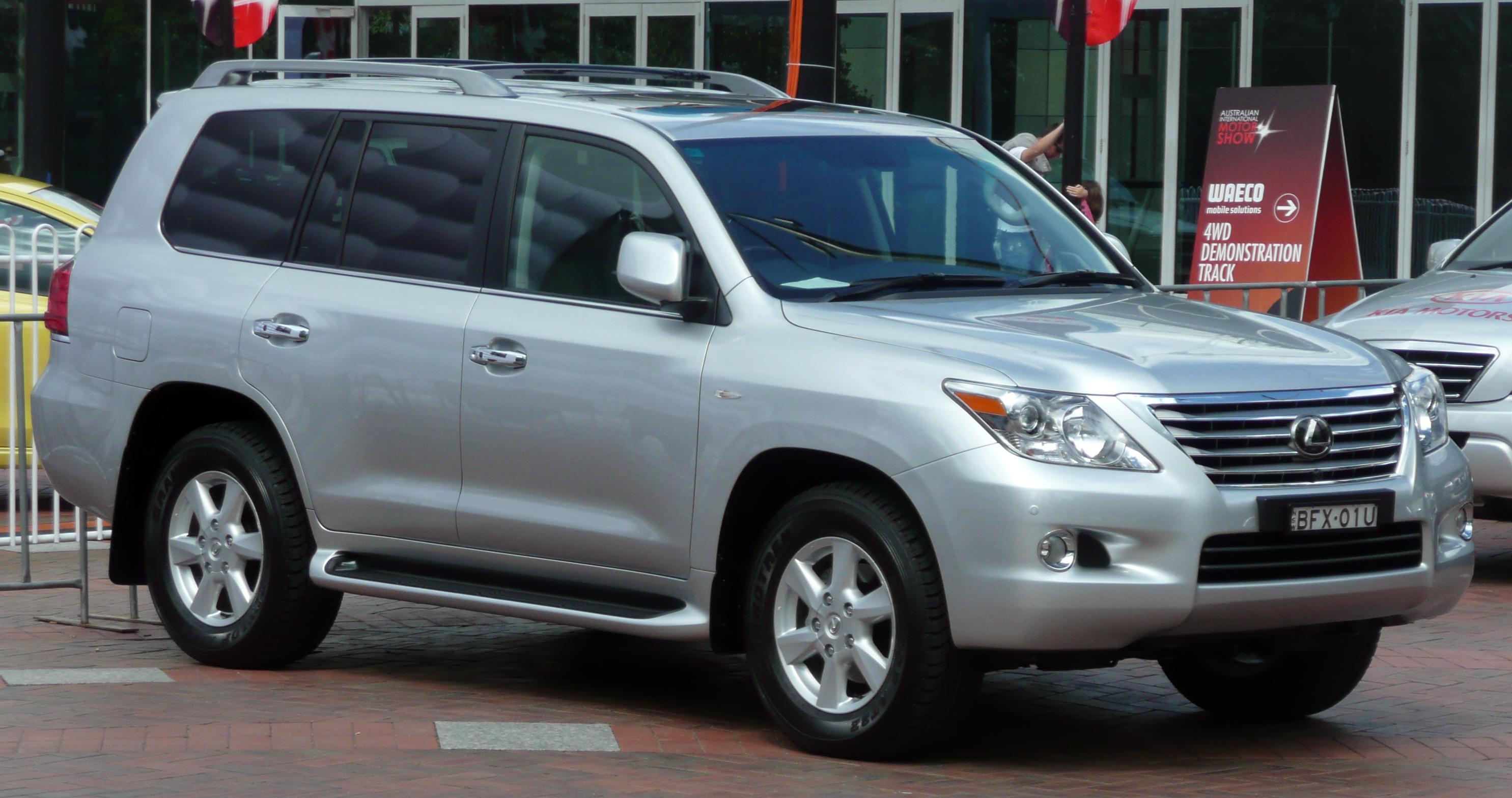 2008 Lexus Lx 570 Image 7