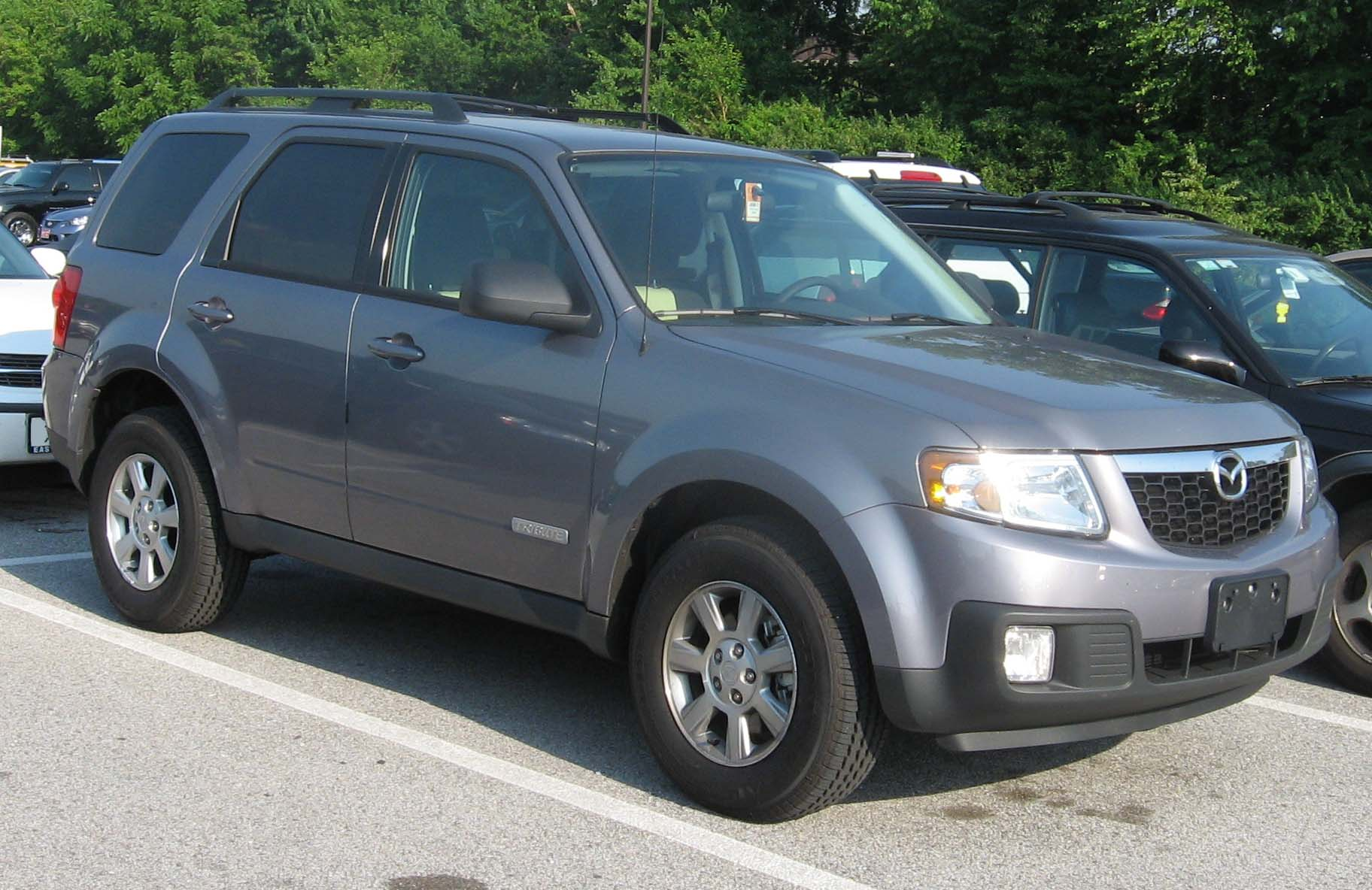 2008 mazda tribute - information and photos - zombiedrive