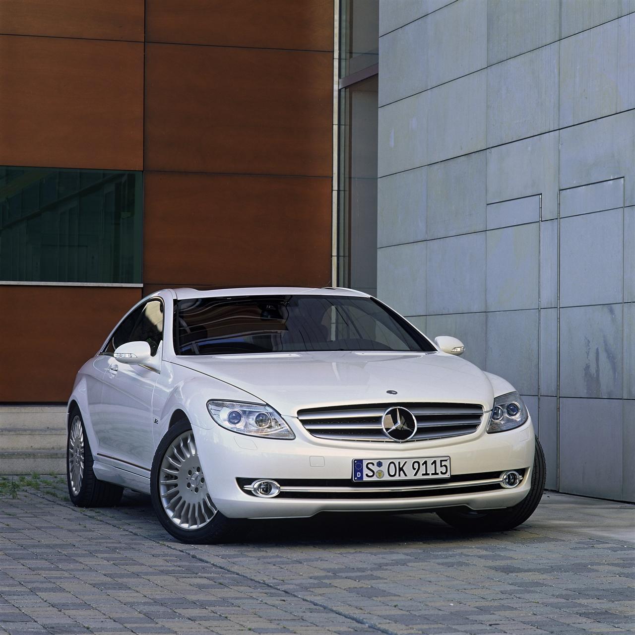 Mercedes-benz Cl-class 9