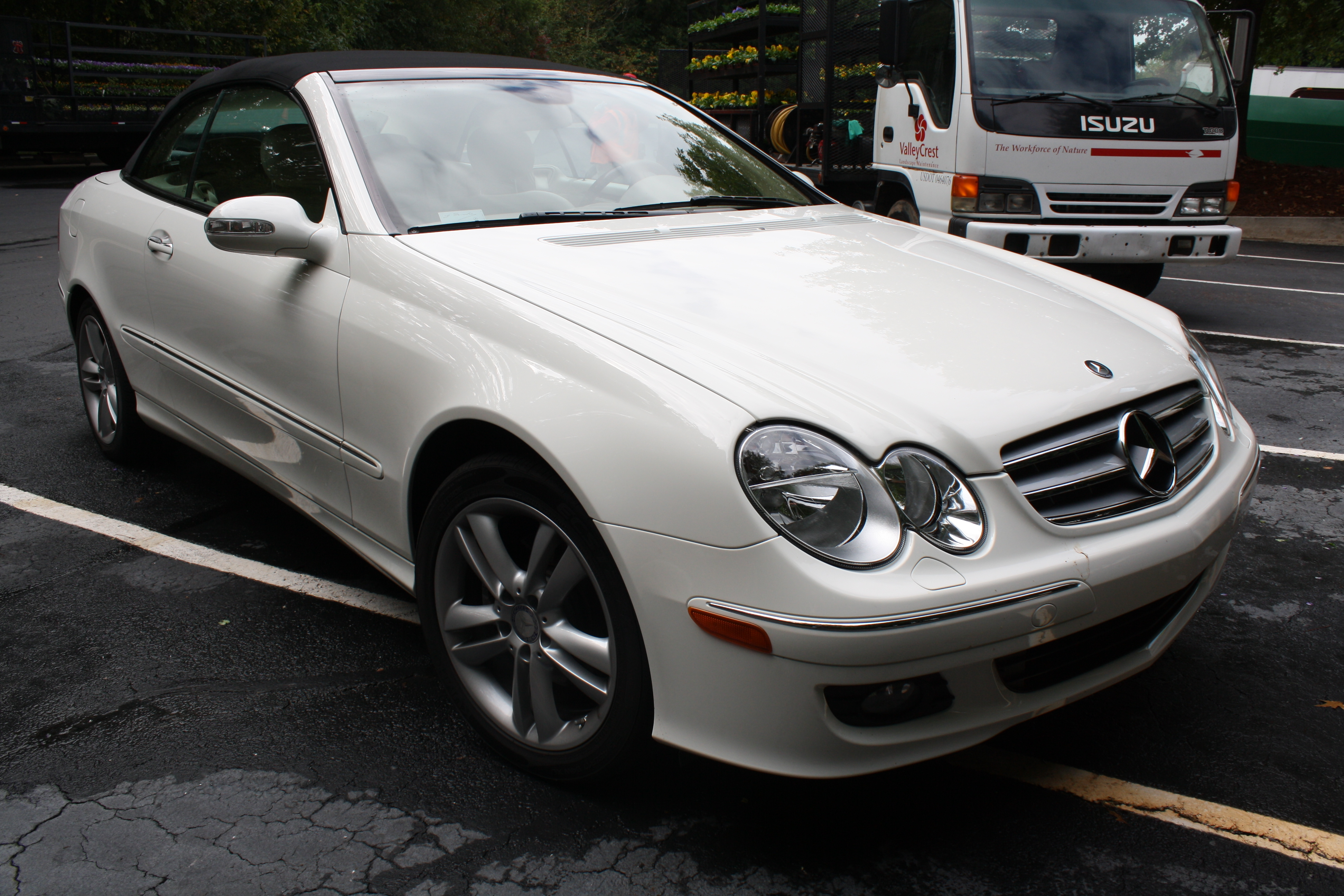 2008 mercedes benz clk class information and photos zombiedrive. Black Bedroom Furniture Sets. Home Design Ideas