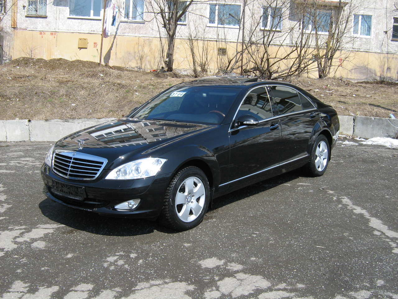 2008 mercedes benz s class information and photos for Mercedes benz 2008 s550