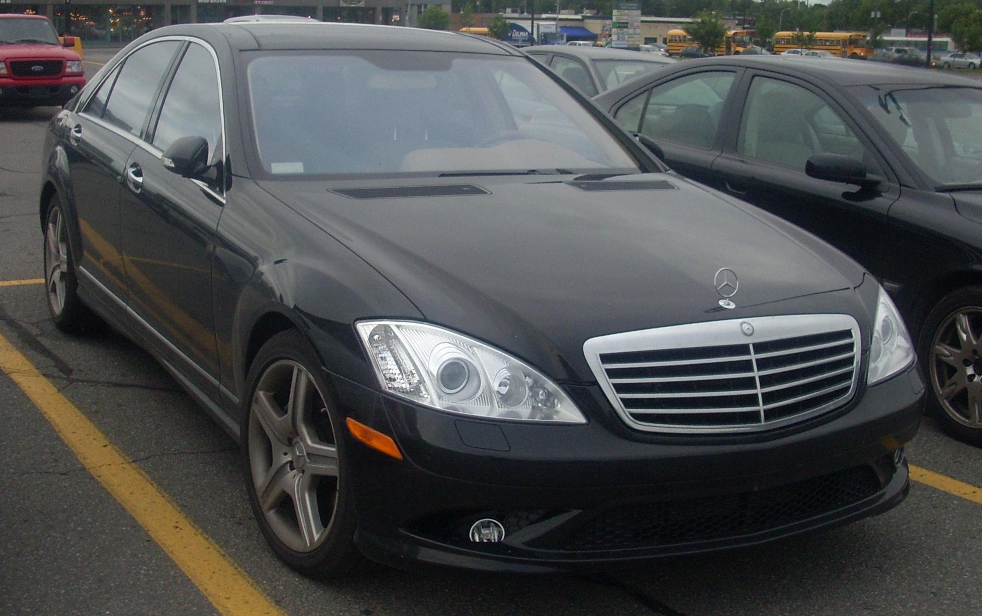 2008 mercedes benz s class image 7 for Mercedes benz s500 2008
