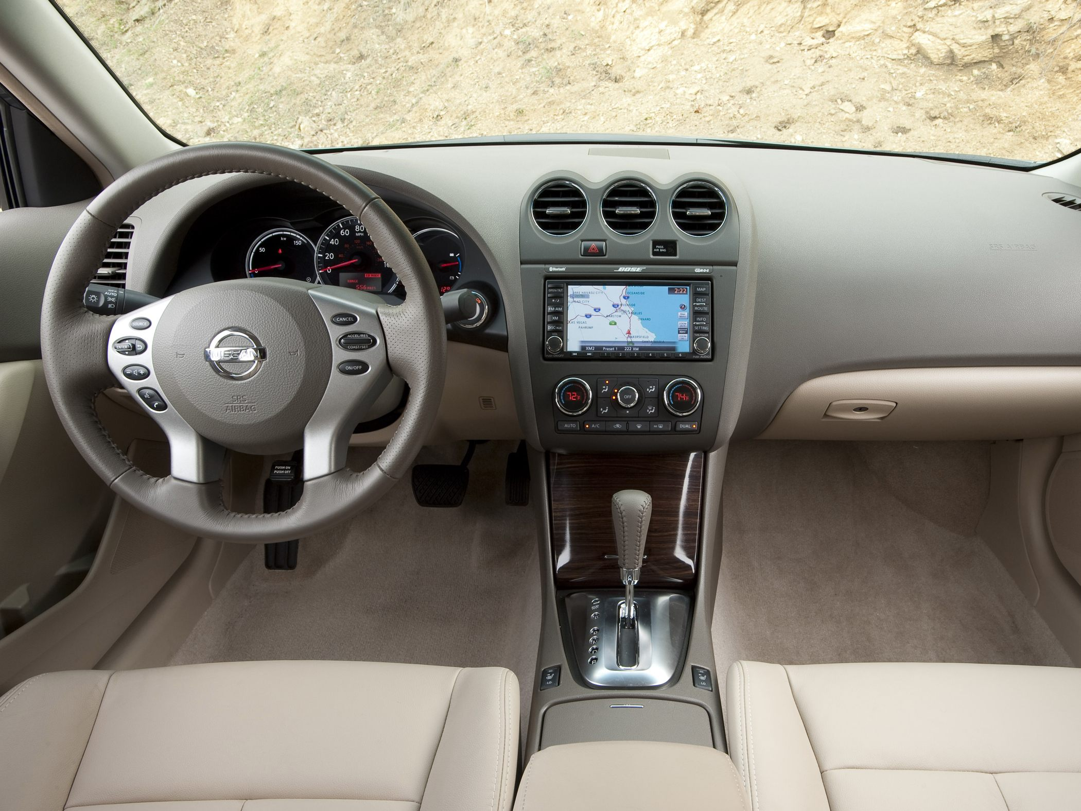 2008 Nissan Altima Features Images Gallery