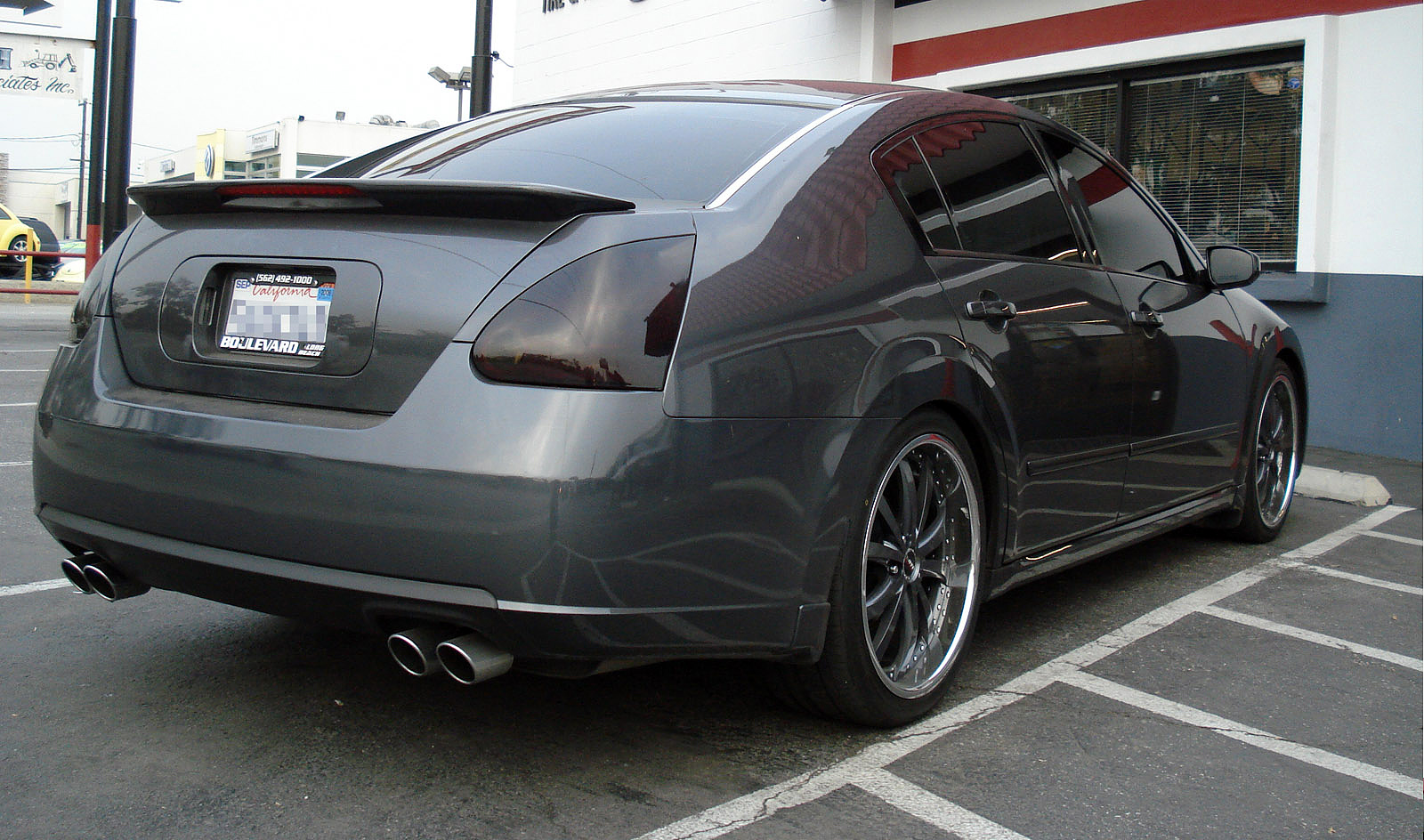 2008 nissan maxima information and photos zombiedrive