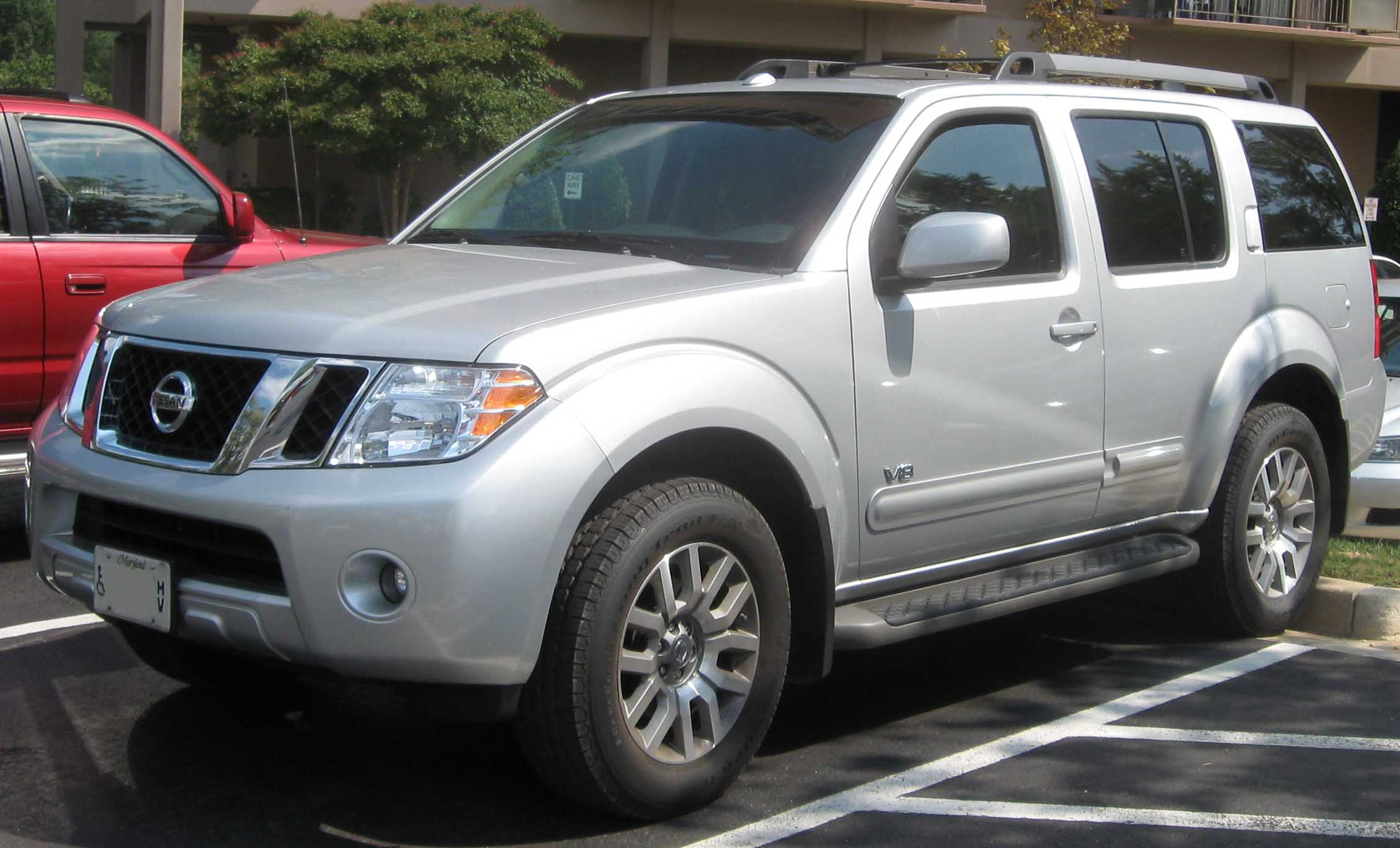 2008 nissan pathfinder information and photos zombiedrive 2008 nissan pathfinder 5 nissan pathfinder 5 vanachro Image collections