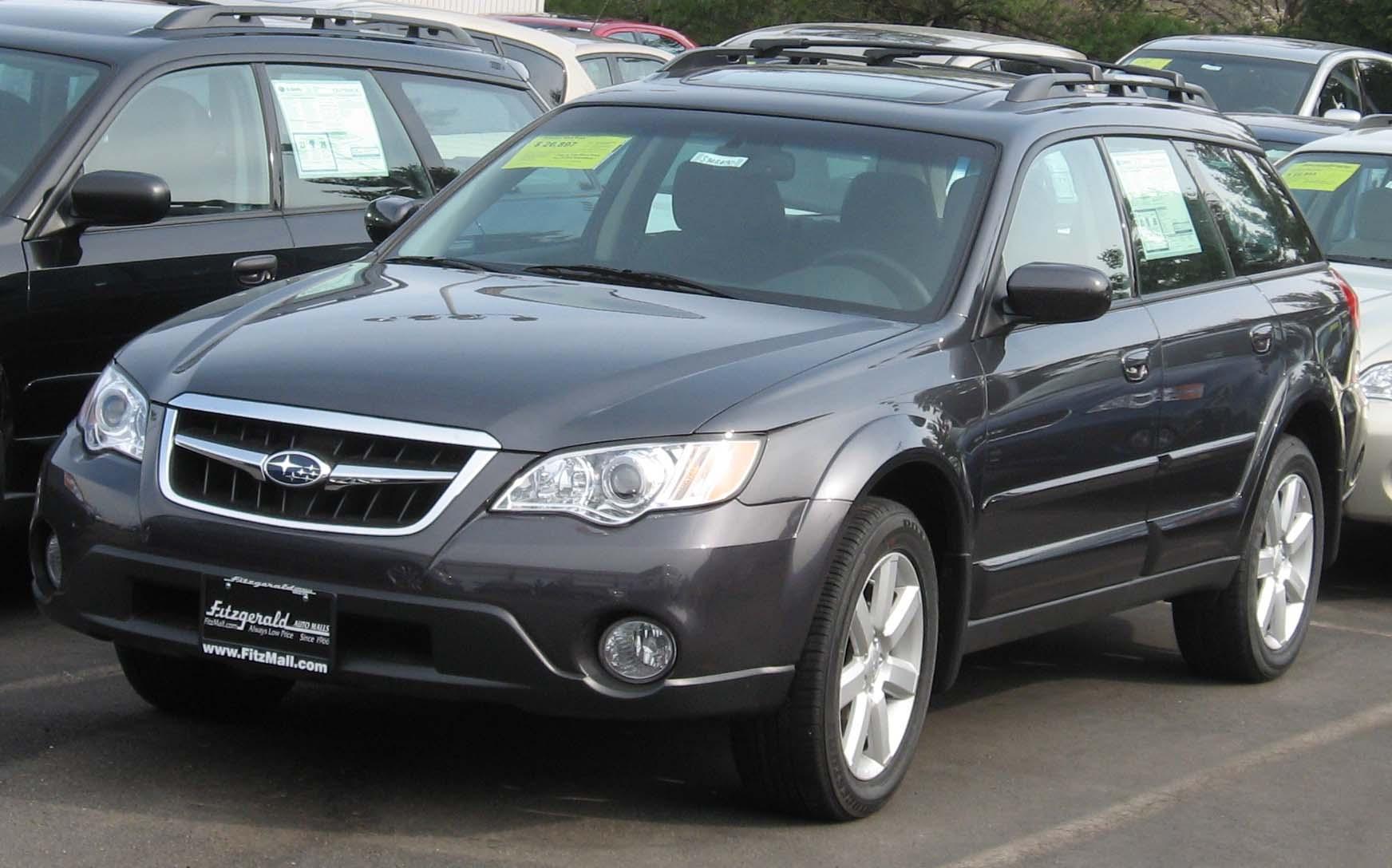 2008 Subaru Outback 3 Subaru