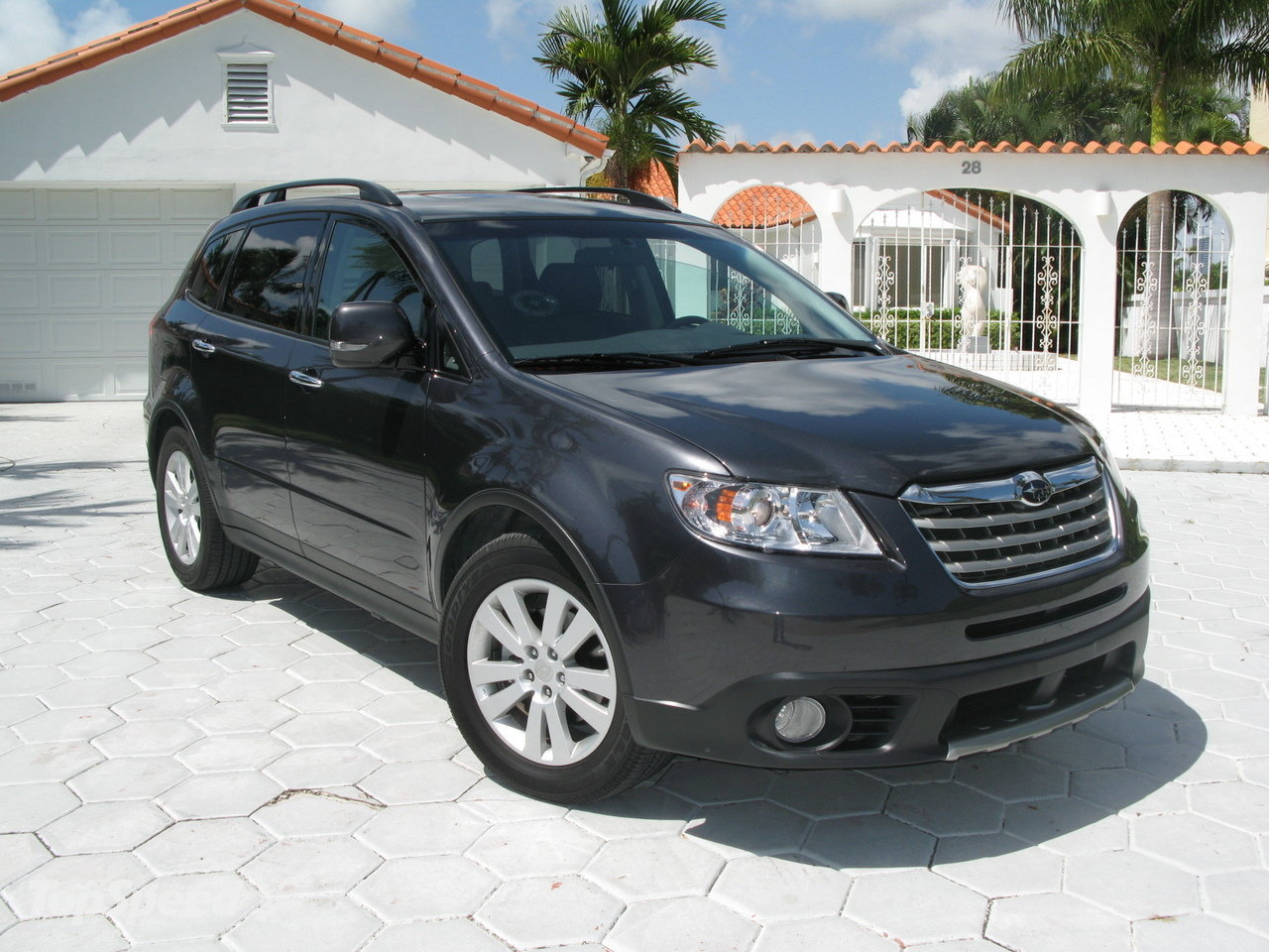 2008 subaru tribeca information and photos zombiedrive. Black Bedroom Furniture Sets. Home Design Ideas