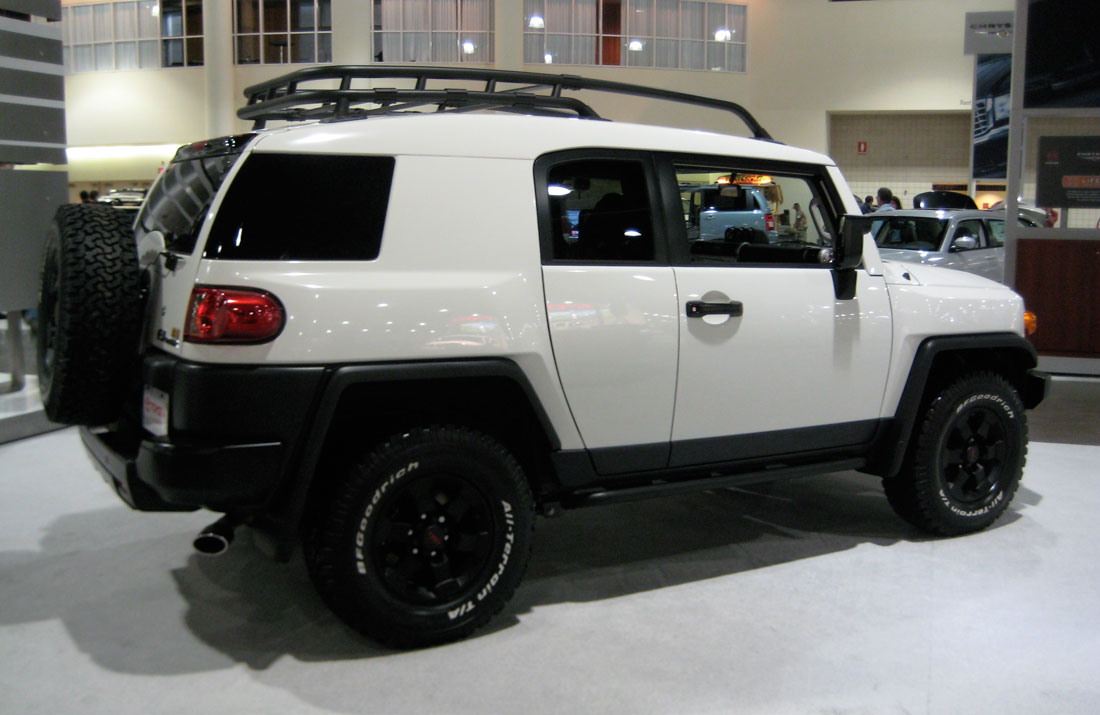 2008 Toyota Fj Cruiser Image 9