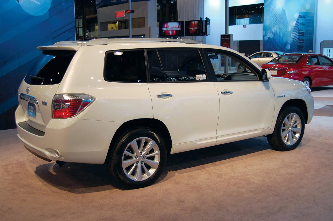 Toyota Blizzard Pearl >> 2008 TOYOTA HIGHLANDER HYBRID - Image #14