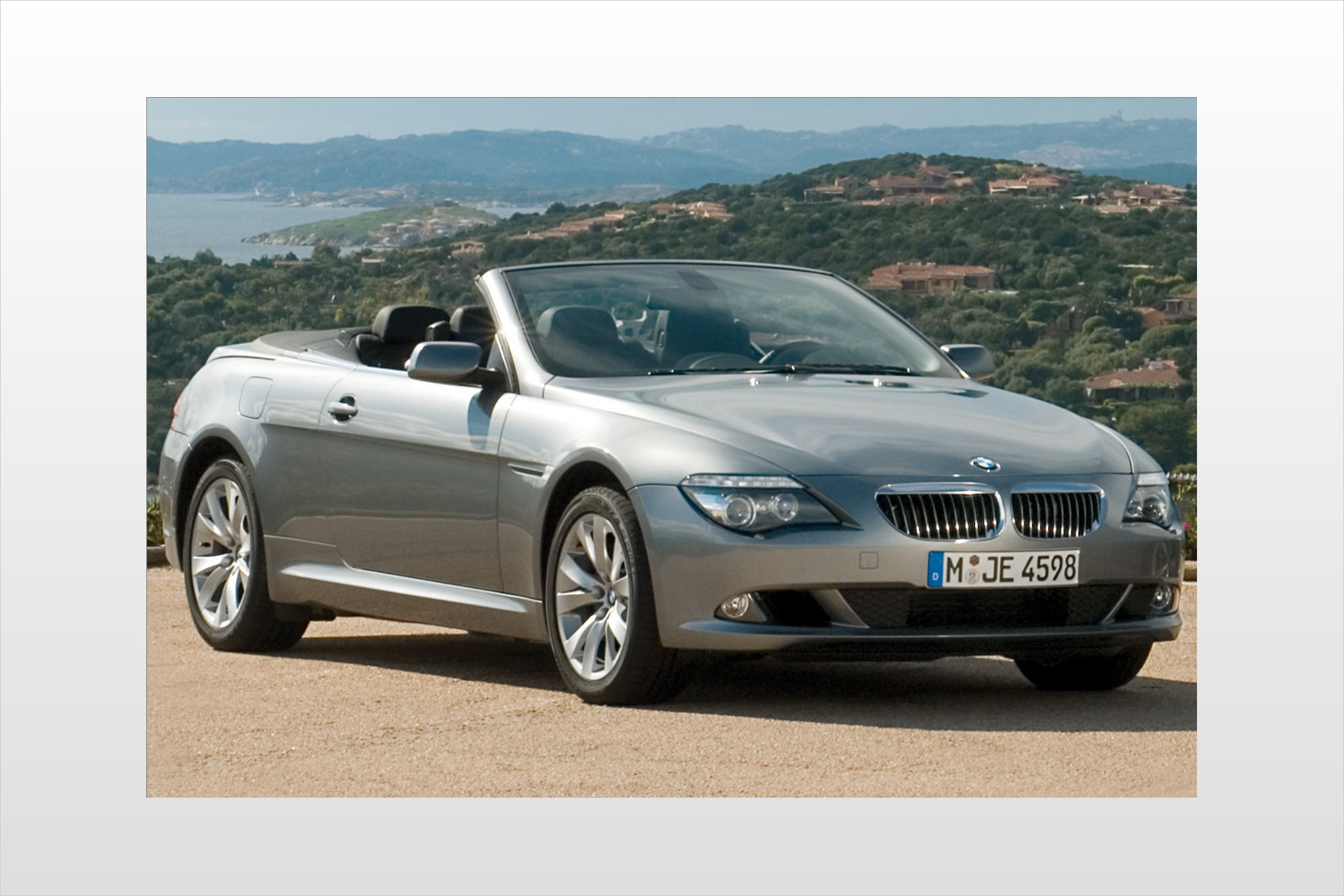 2008 BMW 6 Series 650i Ce interior #4