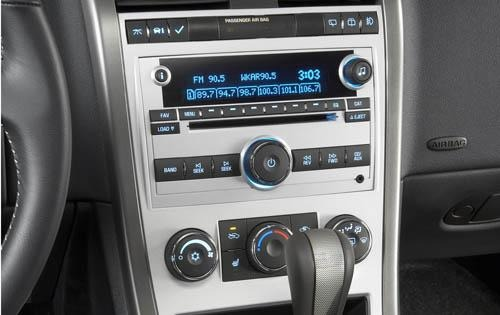 2008 Chevrolet Equinox Sp interior #9
