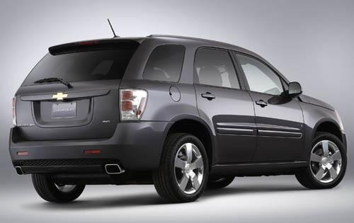 2008 Chevrolet Equinox Sp interior #3