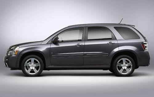 2008 Chevrolet Equinox Sp interior #2