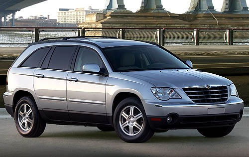 2008 Chrysler Pacifica To interior #3