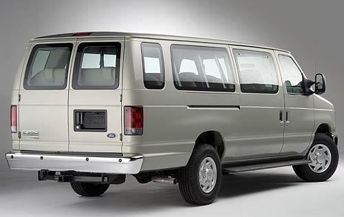 2009 Ford Econoline Wagon 2 2008 Interior