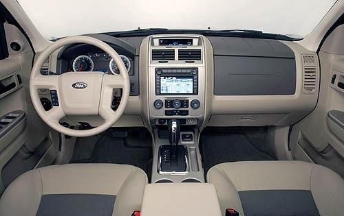 2008 Ford Escape Limited  interior #10