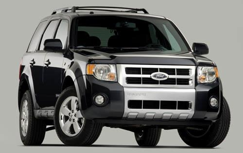 2008 Ford Escape Limited  interior #2