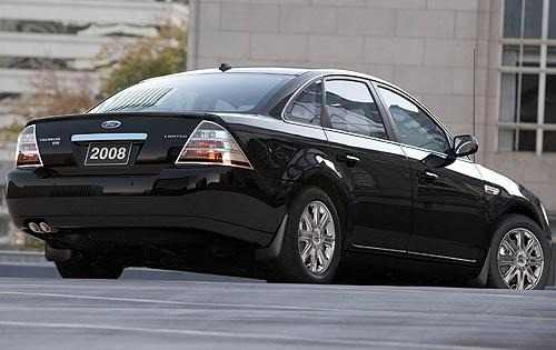 2008 Ford Taurus Limited  exterior #4