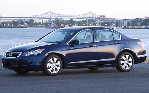 2008 Honda Accord Headlam exterior #2