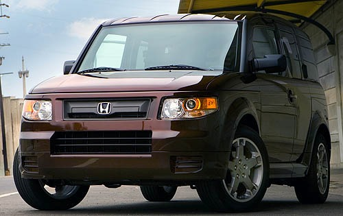 2008 Honda Element EX 4dr interior #7