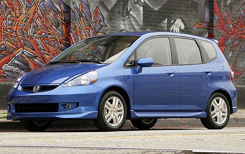 2008 Honda Fit Sport Cent interior #9