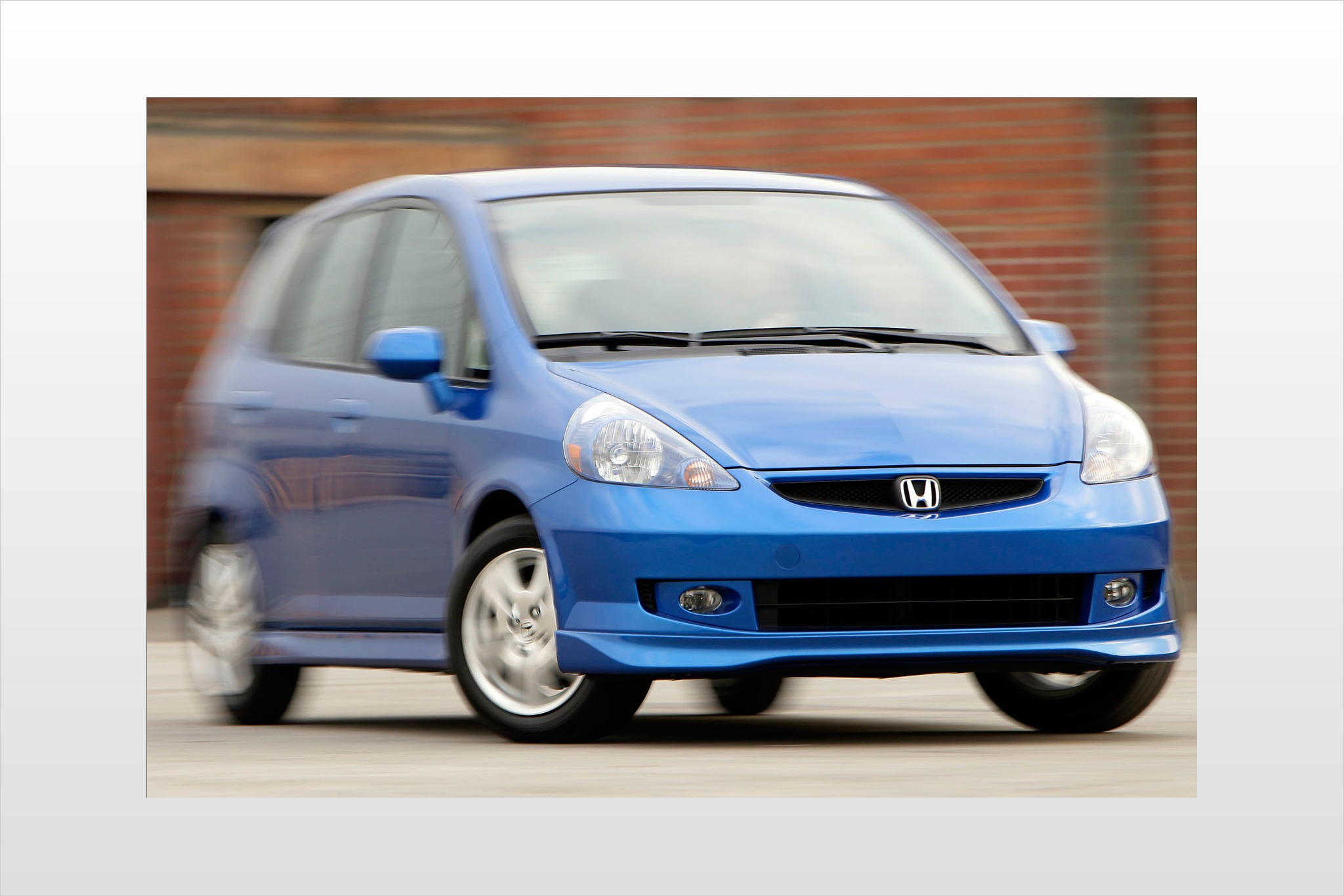 2008 Honda Fit Sport Cent interior #7