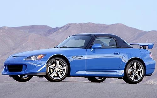 2008 Honda S2000 CR Cente interior #2