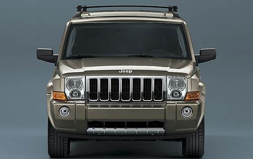 2008 Jeep Commander Limit exterior #4