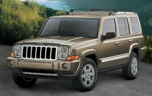 2008 Jeep Commander Limit exterior #1