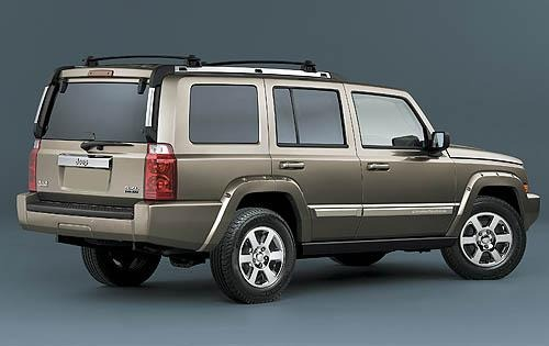 2008 Jeep Commander Limit exterior #3