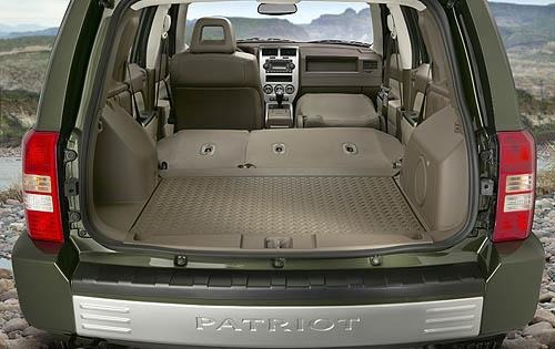 2008 Jeep Patriot Limited interior #6