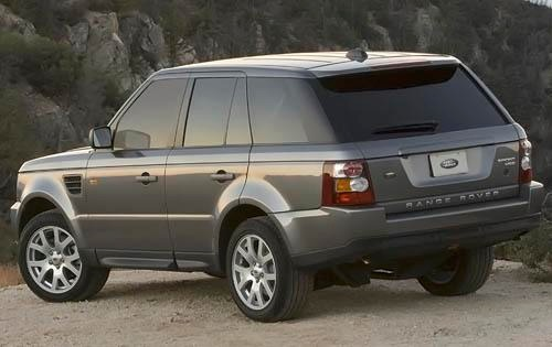 Range Rover Suv >> 2008 LAND ROVER RANGE ROVER SPORT - Image #4